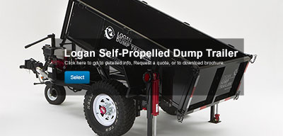 Self propelled dump trailer